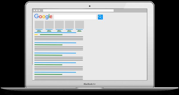 Google shopping Adwords DinOptimering.dk skab salg med adwords