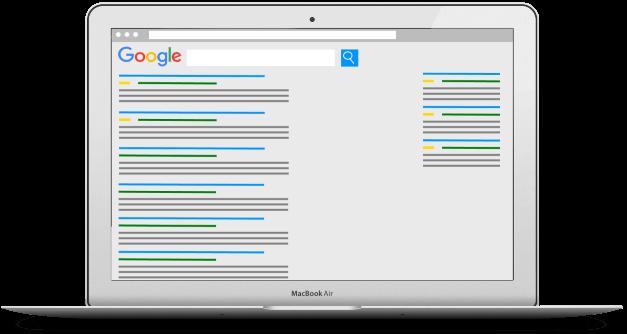 Google Adwords tekstannonce DinOptimering.dk